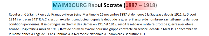 Mort MAIMBOURG Raoul Socrate texte